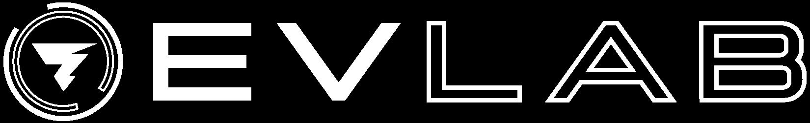 ev lab logo white