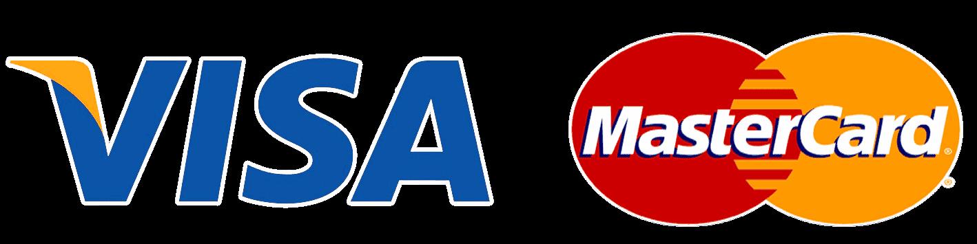 Visa Mastercard logo compressor